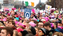 Across the country, on the second day of Donald J. Trump's presidency, demonstrations for women's rights drew massive crowds in cities big and small.