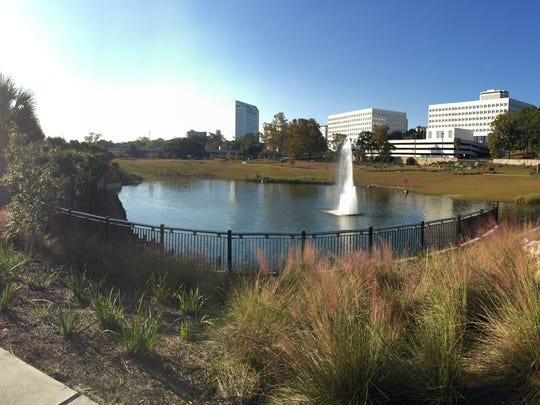 The new and improved Cascades park.