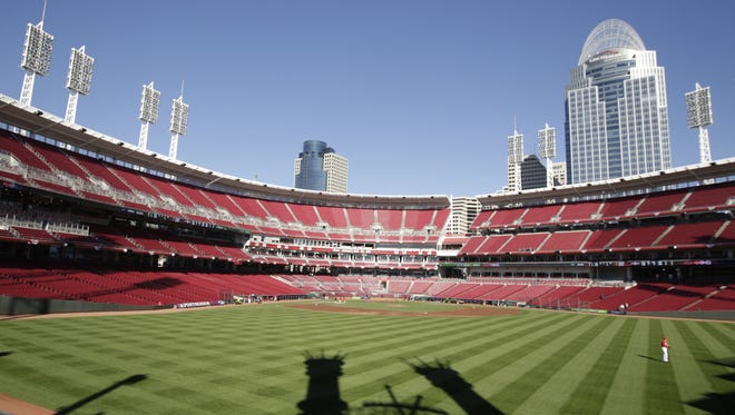 A little more than a decade after Great American Ball Park opened, the stadium's seats are falling apart and must be replaced.