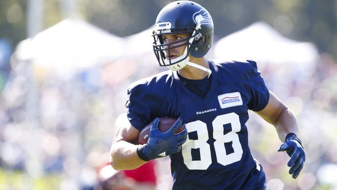 Jimmy Graham says the Seahawks accepted him when they saw his work ethic.
