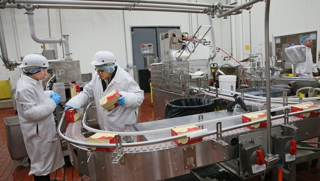Kroger is planning to move production of dairy products, including ice cream production, shown in this 2015 photo, to other plants in its network so it can expand soup production in Kenosha.