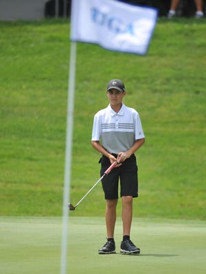 At 14, Max Jackson was the youngest player in the field at the RIGA State Amateur Championship.