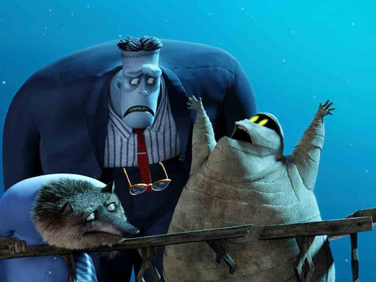 """A gang of ghouls in """"Hotel Transylvania 2."""""""