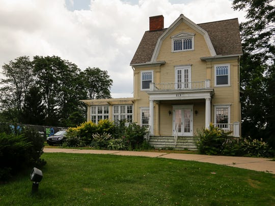 The historic Cooley-Haze house, a 1903 Colonial Revival