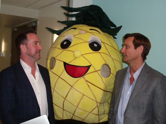 Matthew Feinstein, CEO of Pineapple Express is joined
