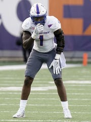 TSU defensive end Ebo Ogundeko will miss Saturday's