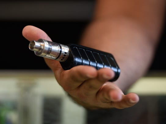 The Tesla vaporizer is one of many devices used to vape flavored nicotine.