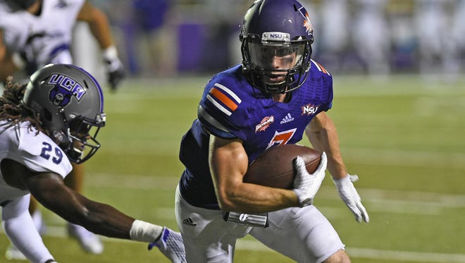 Northwestern State's Ed Eagan has signed with the Buffalo Bills.