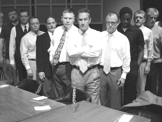 The drama '12 Angry Men' takes stage this weekend at