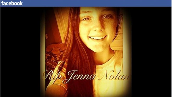 Jenna Nolan, seen in this Facebook photo,  appears to have drowned in Lake Mahopac on Friday. Police are investigating the death.