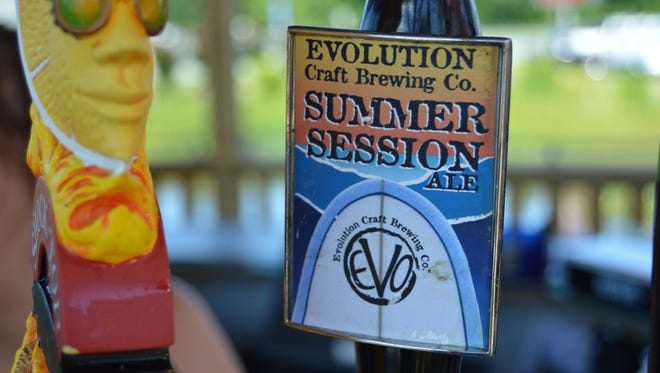 Summer Session by Evolution Craft Brewery is on tap at The Bethany Boathouse.