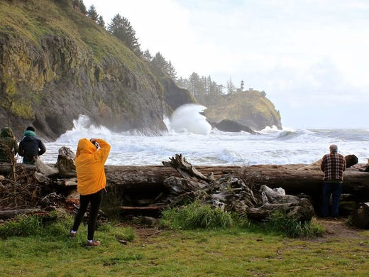 87mph gusts recorded near Cape Disappointment drawing