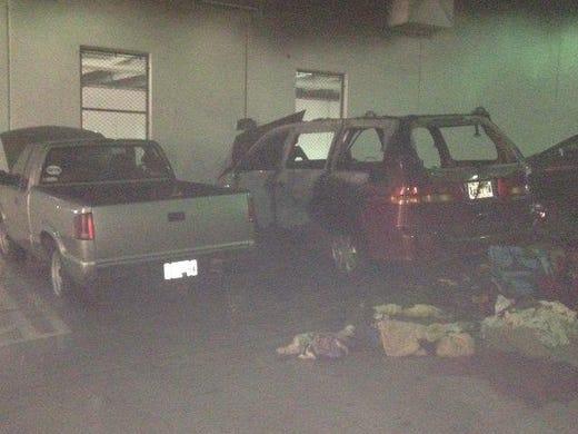 Car Catches Garage On Fire In Rochester: Van Catches Fire Inside Newport News Parking Garage