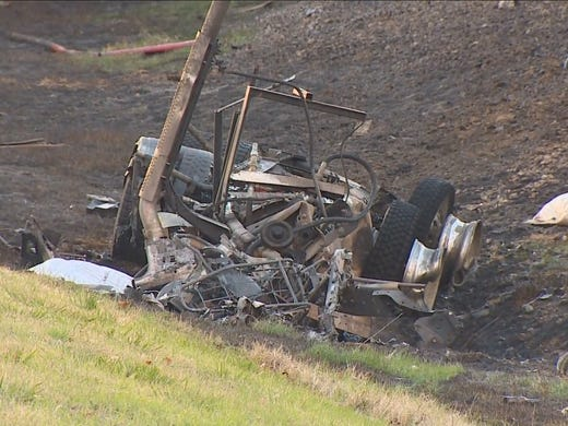 A truck and an 18-wheeler were involved in a fatal