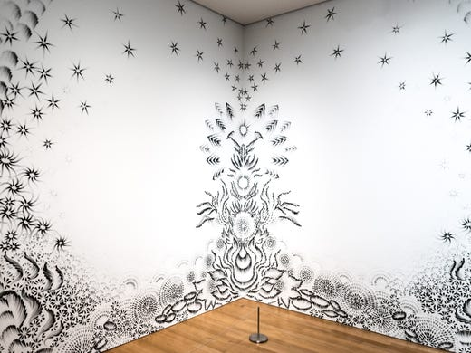 """""""As Above"""" -- Grand Rapids Art Museum -- by Judith"""