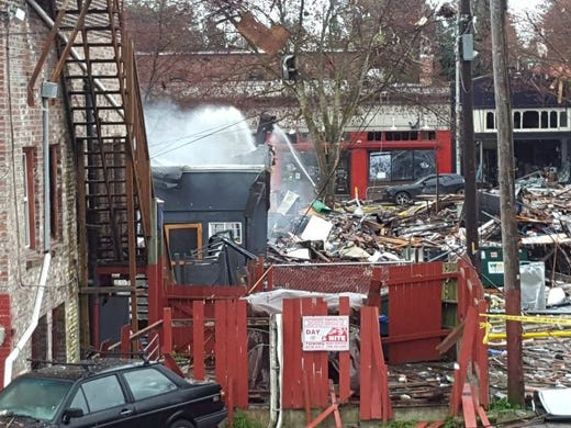 A natural gas explosion in Seattle's Greenwood neighborhood