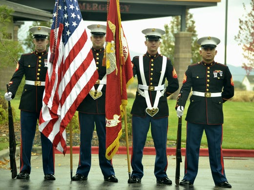 Toys For Tots Colors : Bikers marines kick off annual toys for tots drive