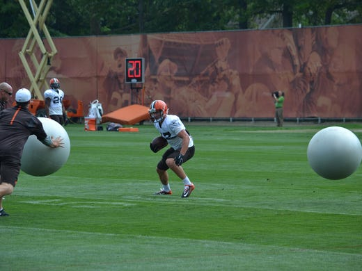 Gary barnidge to have prominent role in browns 39 offense for Josh lenz