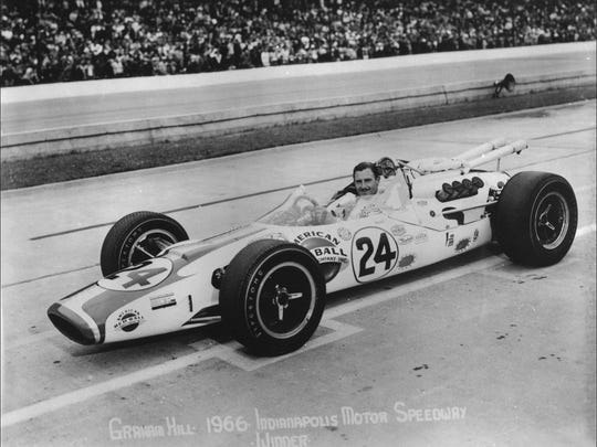 Graham Hill won the 1966 Indianapolis 500 Mile Race