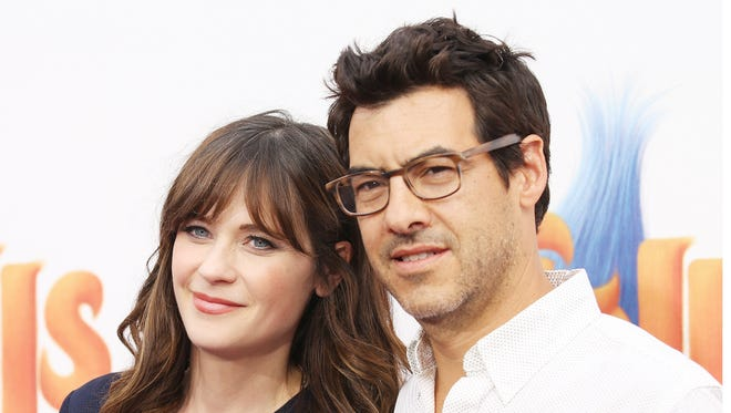 Zooey Deschanel, left, and her husband Jacob Pechenik added one more to their brood.