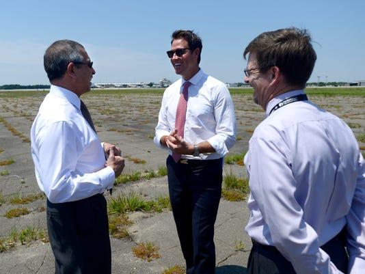 Singapore ambassador visits Pensacola Airport