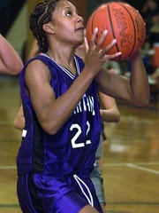 Audrey Graham-Jackson as a senior for Lakeview in 2001.
