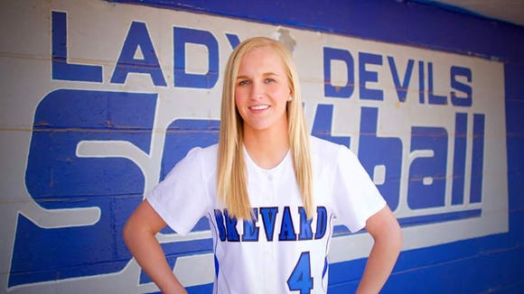 Brevard senior Makayla McNeill has committed to play