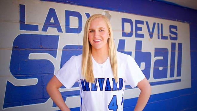 Brevard senior Makayla McNeill has committed to play softball for Brevard College.
