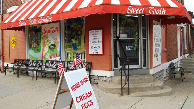 Sweet Tooth Candies in Newport.