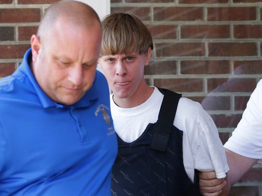 Charleston, S.C., shooting suspect Dylann Storm Roof,