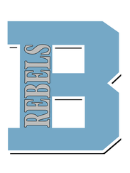 """The new """"Rebels"""" logo at Boone County High School replaces"""