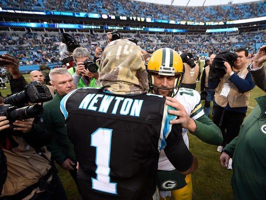 Cam Newton, Aaron Rodgers