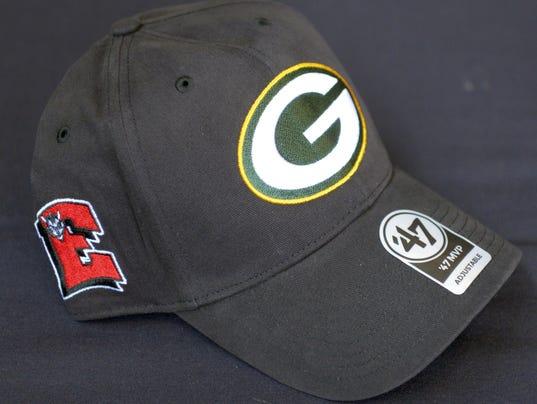 Packers high school hats