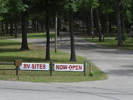 Three years after its closure, Dam Site Park in Bull Shoals reopened last week following an extensive clean-up effort involving a host of community volunteers and city crews.