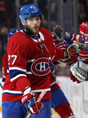Alex Galchenyuk scored 19 goals and 32 assists in 82 games last season for Montreal.