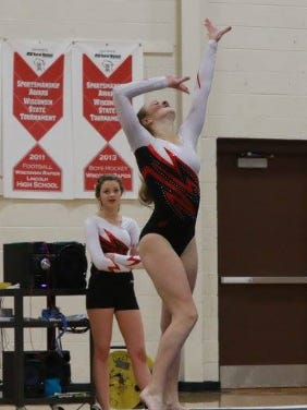 SPASH junior Olivia Clemens hopes to use the experience she gained as a sophomore to perform her best at the state gymnastics competition this Friday and Saturday.