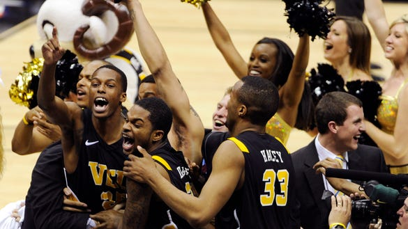 AP NCAA VCU KANSAS BASKETBALL S BKC USA TX