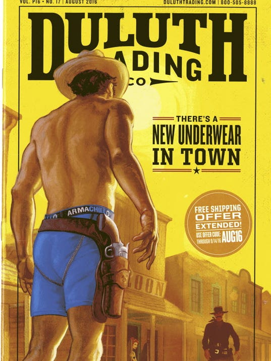 Duluth Trading Company has their men's Buck Naked and Armachillo underwear on sale for $15 each. There is free shipping on orders over $75, and 30% off $+ using code EDP.