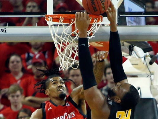 USP NCAA BASKETBALL: WICHITA STATE AT CINCINNATI S BKC CIN WCS USA KY