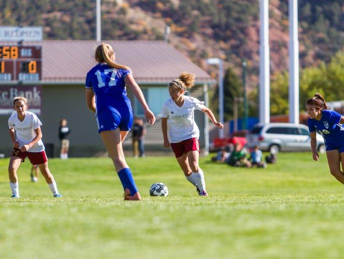 High school girl's soccer: Dixie at Cedar, Friday,