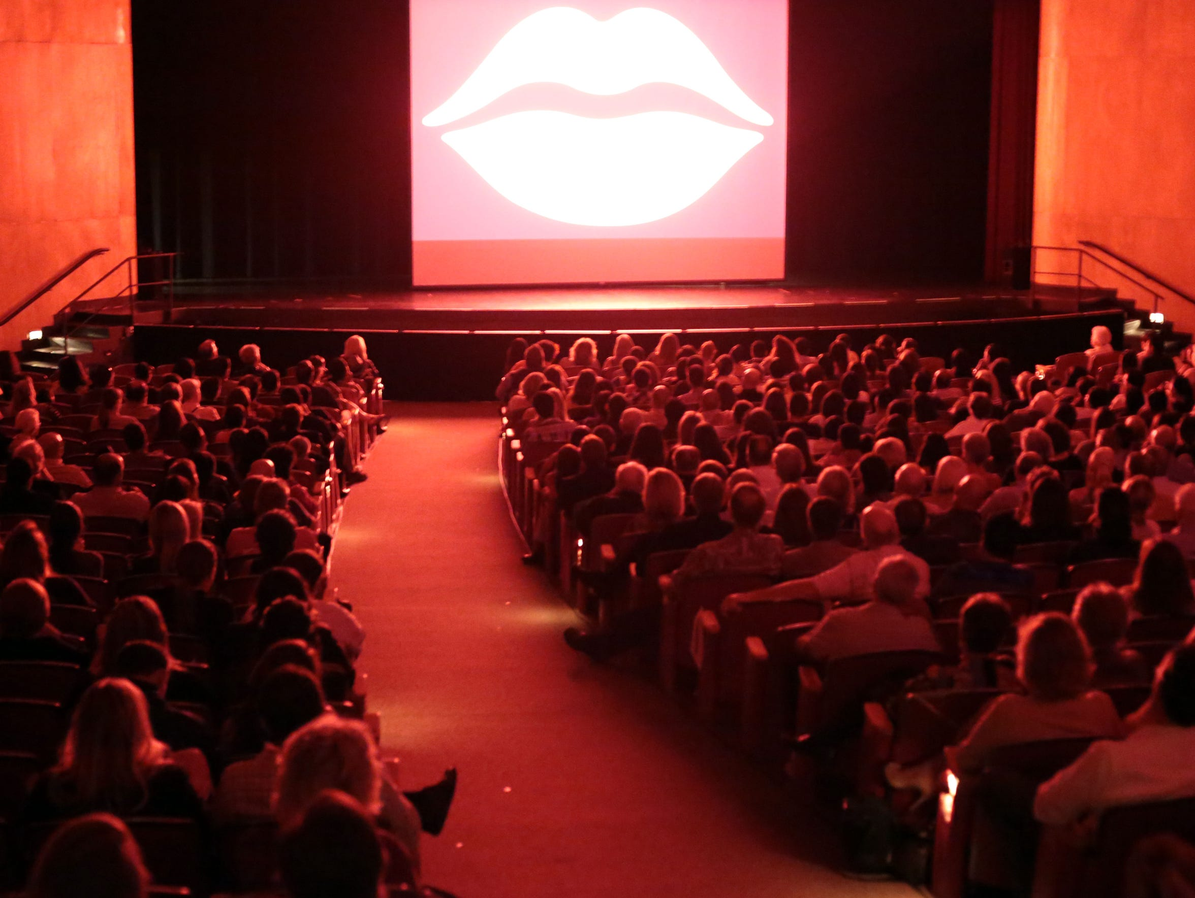 Coachella Valley students watch their films at the