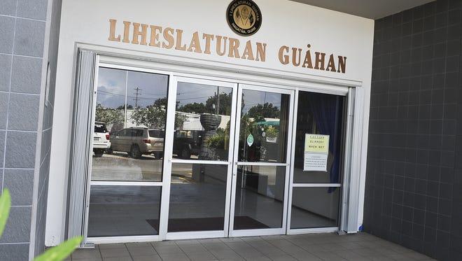 The Guam Legislature building.