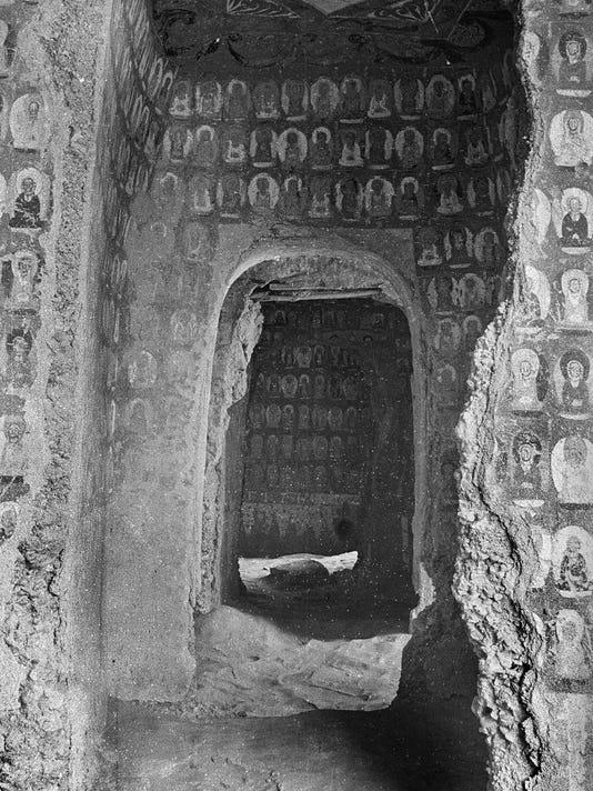 Ole Miss Buddhist Caves Photo Exhibit