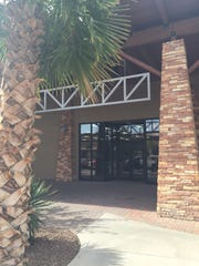 The exterior of the Cabela's seasonal store in Freedom Crossing at Fort Bliss. A Cabela's sign will be added soon.