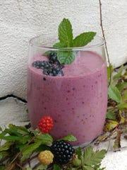 Dewberry smoothie