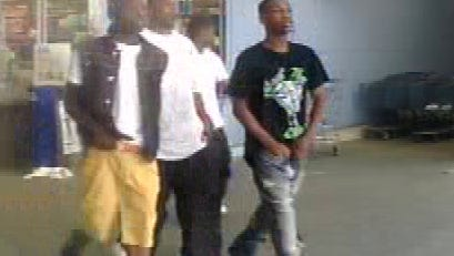Four men are suspected of stealing 47 drinks from Wal Mart on South Highland Ave.