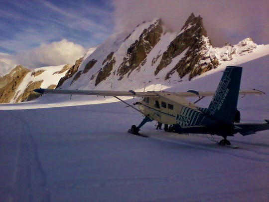 """A contributor landed his place on a glacier in Alaska's Denali National park and experienced """"the flight of a lifetime"""""""