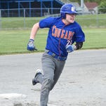 Garden City's Jassen Matuscak rounds third and heads for home during a game earlier this season.