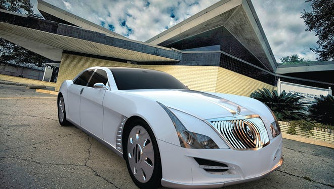 The Natalia SLS 2 by DiMora Motorcar is a hand-built sport luxury sedan to be produced in Palm Springs.