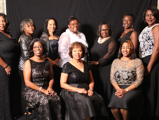 The steering committee for the Jack and Jill Black